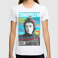 COSMARXPOLITAN, Issue 13 Womens Fitted Tee Ash Grey SMALL