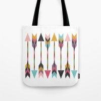 Bohemian Arrows Tote Bag