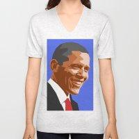 Barack 2 Unisex V-Neck