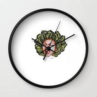Butterfly Head Wall Clock