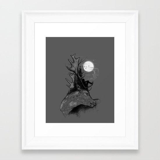 A Long December Framed Art Print