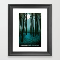 Framed Art Print featuring Transfigured Night - Ver… by Prelude Posters