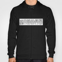 Six Pack (owl collective) Hoody