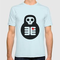 The Angel Mens Fitted Tee Light Blue SMALL