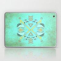 Aztec swan Laptop & iPad Skin