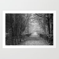 Art Print featuring Towards The Gate by David Tinsley