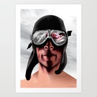 The Man Who Wanted To Be… Art Print