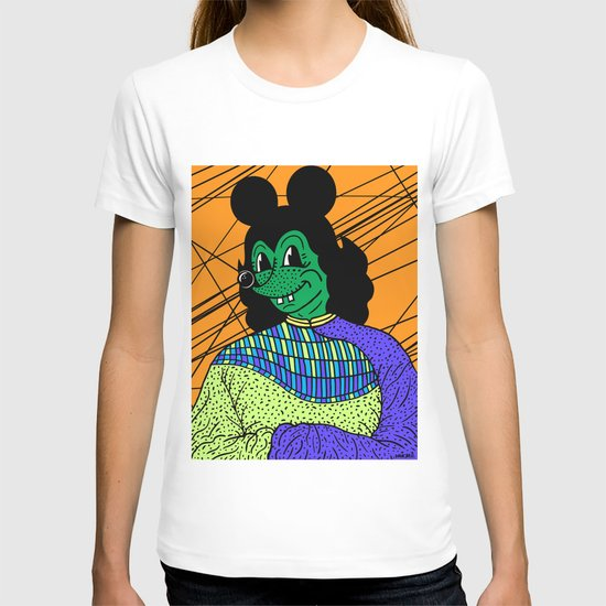 THE GREEN LADY. T-shirt