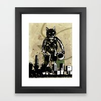 Brave New World Framed Art Print