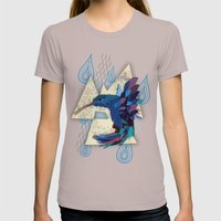 Hummingbird Womens Fitted Tee Cinder SMALL