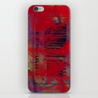 Scanned in Blood iPhone & iPod Skin
