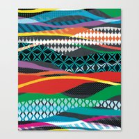 Wave Blaze Canvas Print