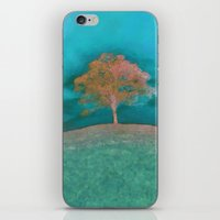 ABSTRACT - Solitary Tree iPhone & iPod Skin