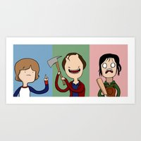 Adventure Time With The … Art Print