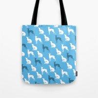 Greyhound Dogs Pattern O… Tote Bag