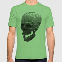 IRON SKULL Mens Fitted Tee Grass SMALL