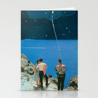 Space Tether Stationery Cards