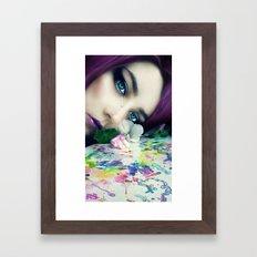 Silent Tears Framed Art Print