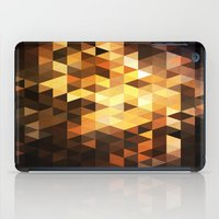 Triangle Design Chocolate iPad Case