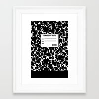 Composition Device Framed Art Print