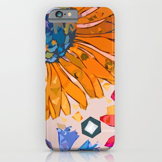 Paint by flower iPhone & iPod Case