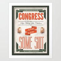 Congress Art Print