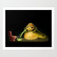 Star Wars Jabba The Hutt… Art Print