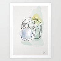 One Line Ulysses 31 Helm… Art Print