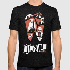 Django Unchained Mens Fitted Tee Tri-Black SMALL