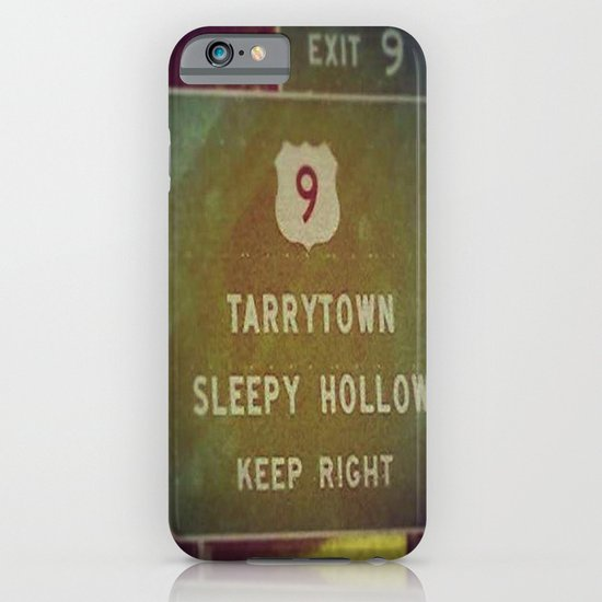 Sleepy Hollow iPhone & iPod Case