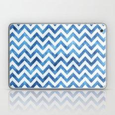 Chevron Blues Laptop & iPad Skin