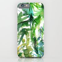 VIBE of the Jungle  {A-green} iPhone 6 Slim Case