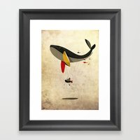 I Believe I Can Fly Framed Art Print