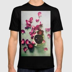 Scattered Dreams Black SMALL Mens Fitted Tee