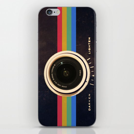 Modern Vintage inspired Camera! iPhone & iPod Skin
