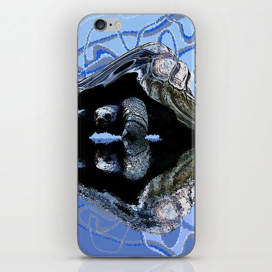 Blue Turtle iPhone & iPod Skin