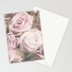 Bed of morningroses Stationery Cards
