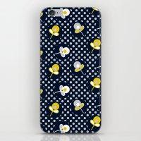 retro paisley flower iPhone & iPod Skin