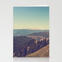 Last Days of Summer Hike Stationery Cards