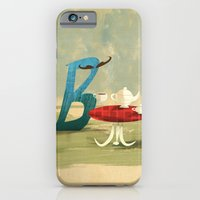 iPhone & iPod Case featuring Time for Tea with Letter B by David Finley