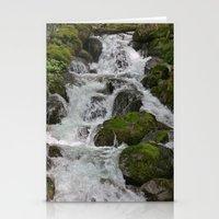 Cascades Below Stationery Cards