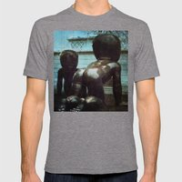 Alien Babies - Prague Mens Fitted Tee Tri-Grey SMALL