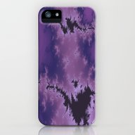 Purple Explosion iPhone (5, 5s) Slim Case