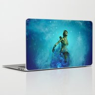 Fighter In The Universe Laptop & iPad Skin
