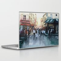 paris Laptop & iPad Skins featuring PARIS by Nicolas Jolly