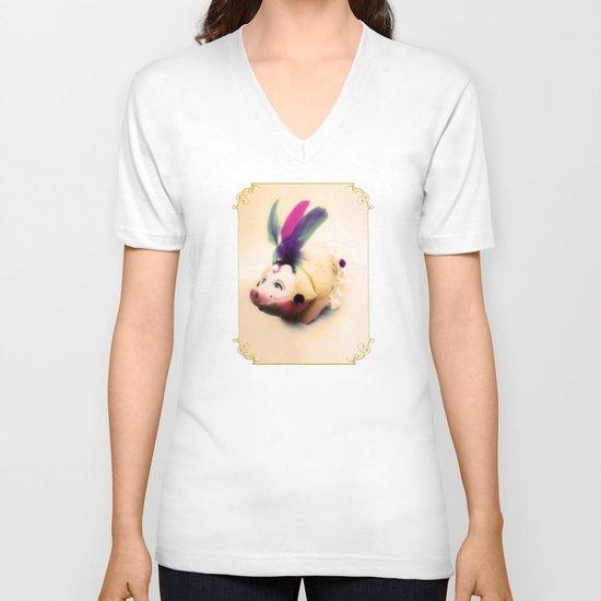 Lady Chancha V-neck T-shirt