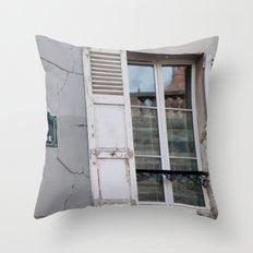 Rue Saint Eleuthere Throw Pillow