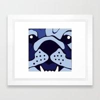 Bluedog Framed Art Print