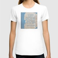 books T-shirts featuring Books by Dora Birgis