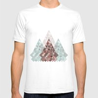 04 Mens Fitted Tee White SMALL